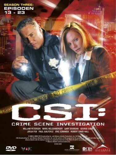 1 von 1 - CSI: Crime Scene Investigation - Season 3.2 - 3 DVDs