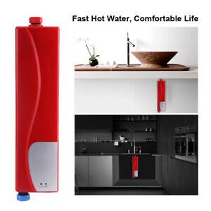 220V Elektro Tankless Instant Wasser Heizung Durchlauferhitzer für ...
