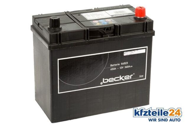 f.becker_line | Starterbatterie Premium Starter-Batterie - 12 Volt 45 Ah 360 A