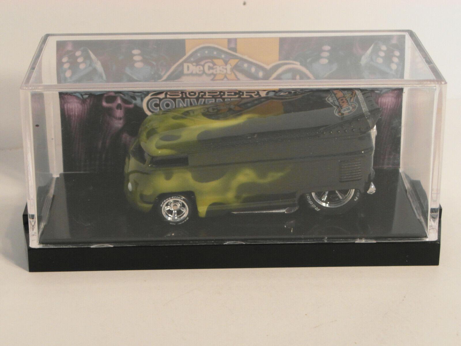2014 DiecastX Super Convention Las Vegas VW DRAG BUS  by POPE DESIGNS 1 6