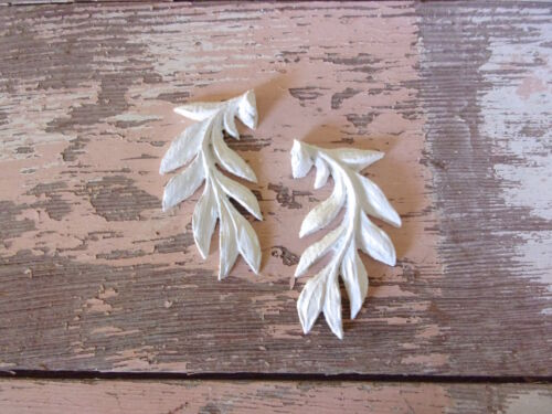 SHABBY /& CHIC FURNITURE APPLIQUES 2 PC ARCHITECTURAL ONLAYS * FLEXIBLE