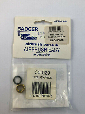 50-029 Tire Adaptor  New in Package Ships Free Badger Airbrush Co