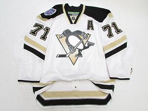 sale retailer 48a50 3e470 Details about EVGENI MALKIN PITTSBURGH PENGUINS STADIUM SERIES REEBOK EDGE  2.0 7287 JERSEY