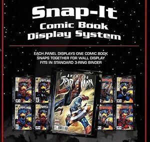 Image Is Loading 24 Bcw Snap It Comic Book Wall Display