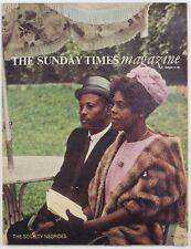 EVE ARNOLD Godfrey Smith FASHION Horn & Griner THE SUNDAY TIMES MAGAZINE vtg 60s