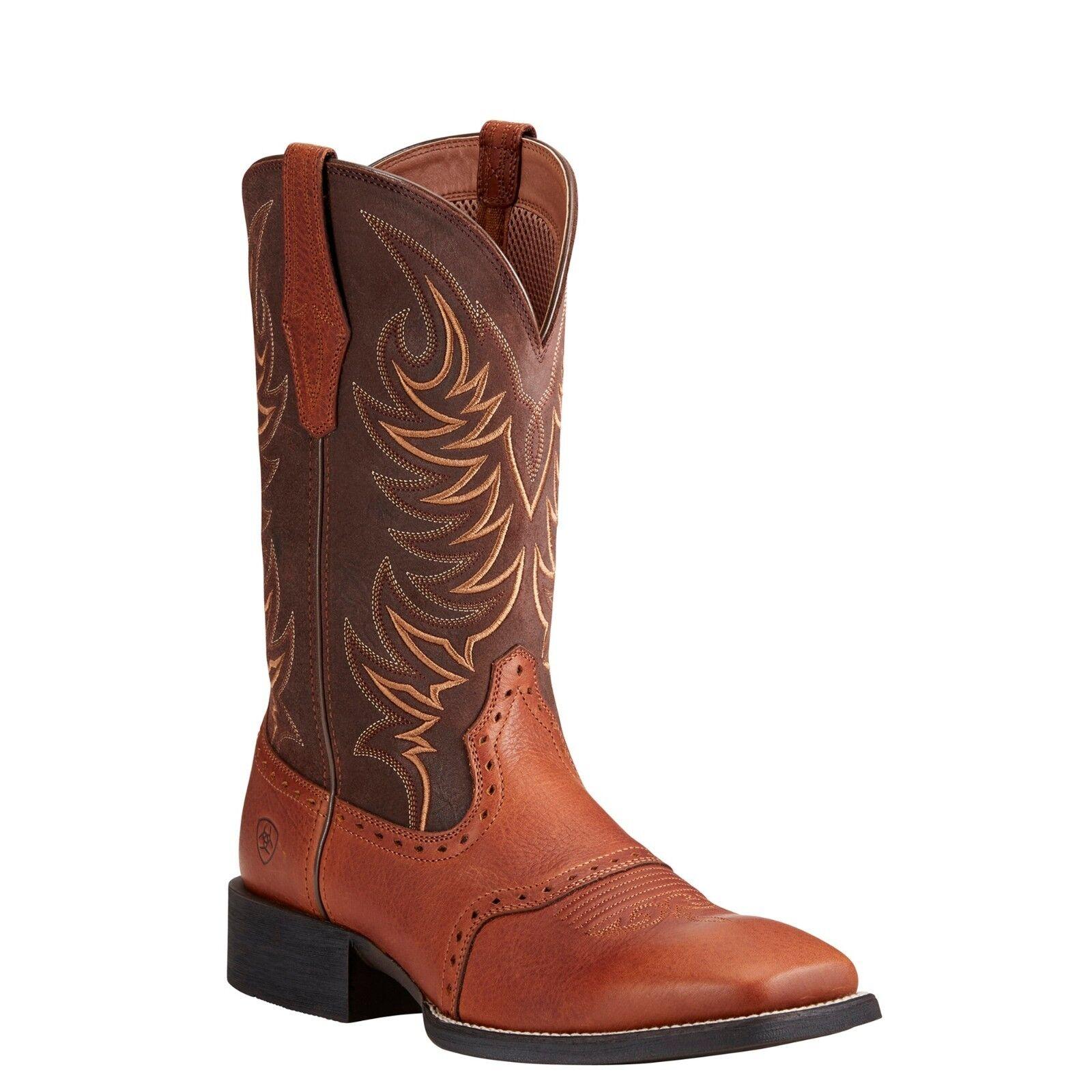 Ariat® Men's Sport Sidewinder golden Grizzly & Brown Boots 10021683