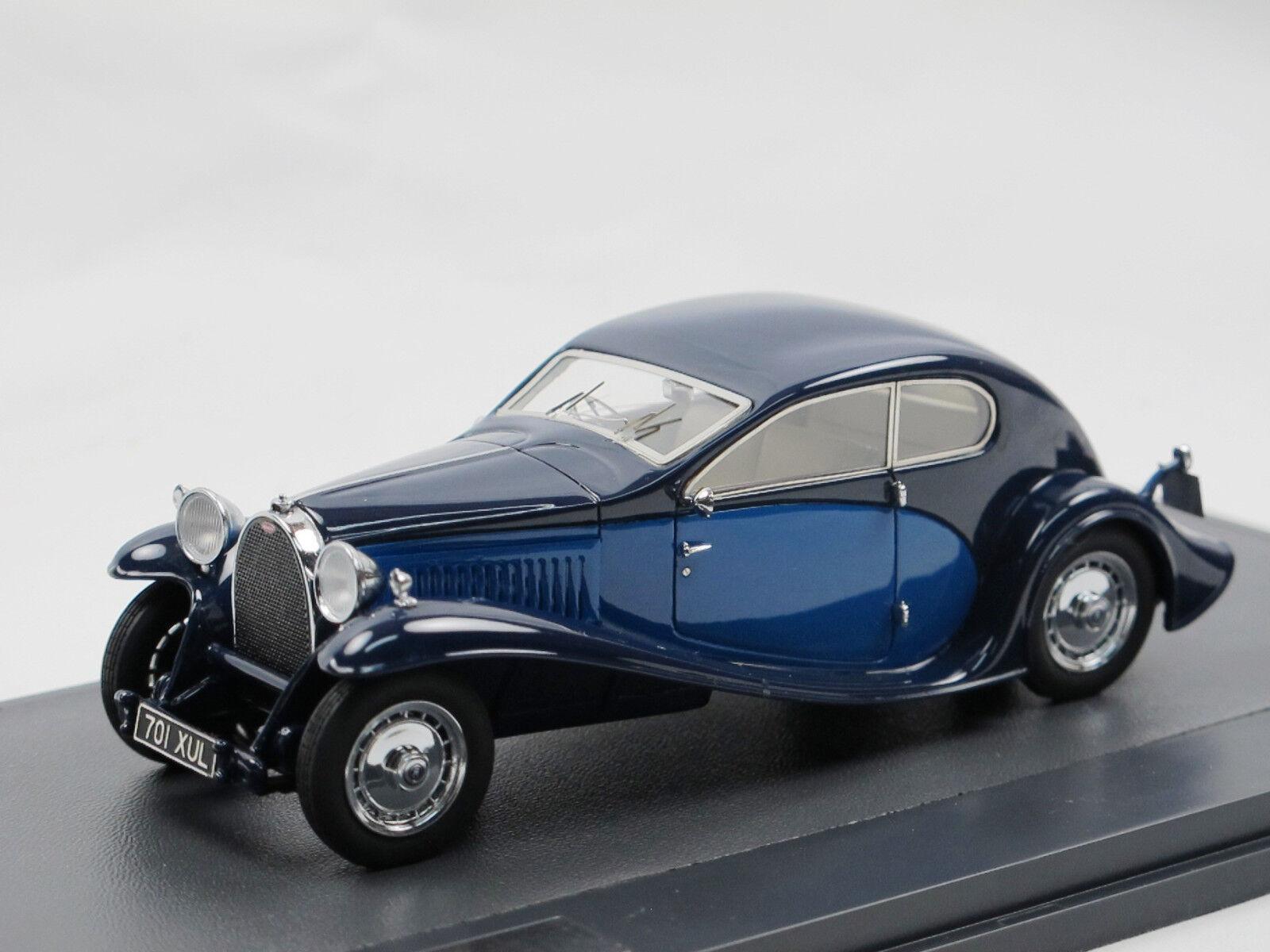 MATRIX SCALE MODELS 1930 Bugatti Type 46 Super profils profils profils bleu 1 43 mx40205-012 add3e8