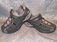 Kids TEVA DOZER 3 Black Water Hiking Trail Sport Vacation Sand Beach Boat Shoes