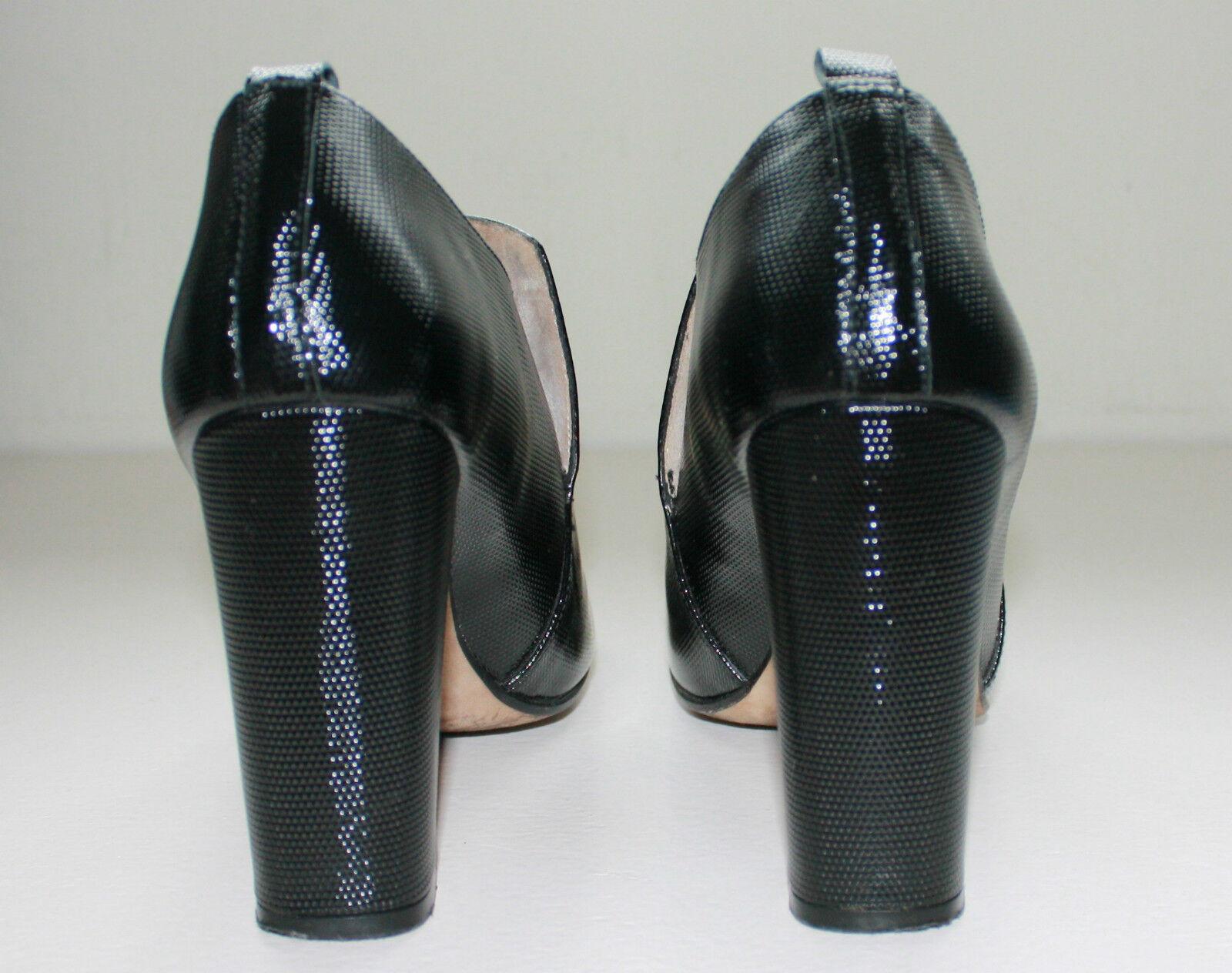 premium selection 064f0 76b49 Paco Gil De Cuero Negro Botas al Tobillo Zapatos, tamaño 7 EU cb8422 -  miceralusl.es