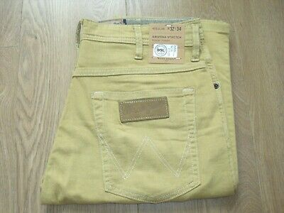 Wrangler Arizona Stretch Lightweight Regular Straight Trousers Jeans W32L34 New