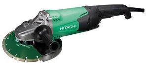 Hitachi-Winkelschleifer-G-23ST-mit-Diamantscheibe-230mm-NEU
