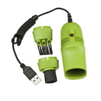 New Mini USB Vacuum Keyboard Cleaner Dust Collector LAPTOP Computer HS