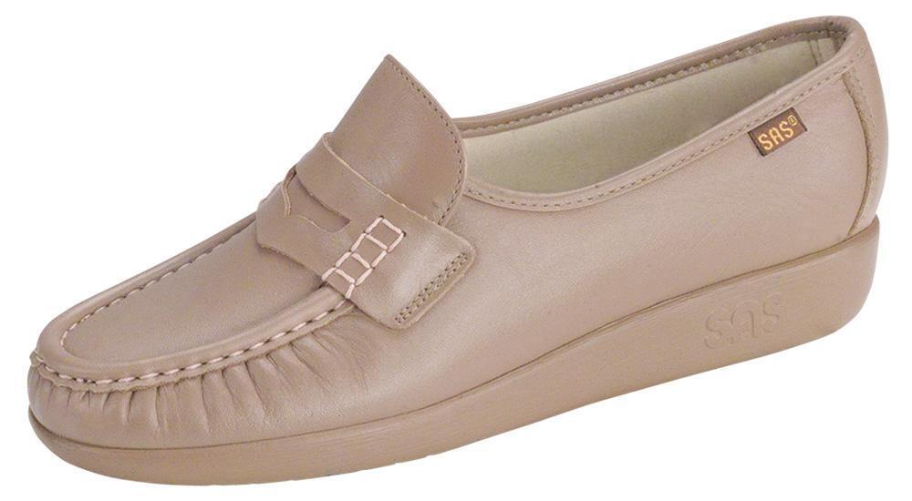 servizio di prima classe Donna  sz 7 Slim SAS San Antonio Antonio Antonio scarpe Classic Mocha  Slip On Leather scarpe  tutti i prodotti ottengono fino al 34% di sconto