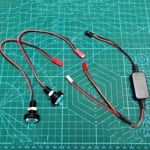 LED Front Light Spotlight Headlamp For Traxxas Slash REVO E-REVO X-MAXX RC Car