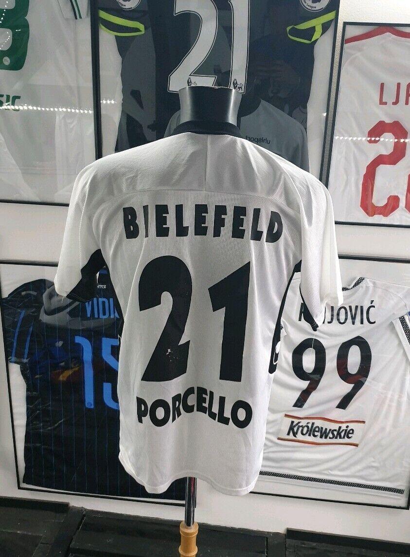 Maillot jersey trikot shirt 2003 2004 porcello arminia bielefeld M uhlsport 04