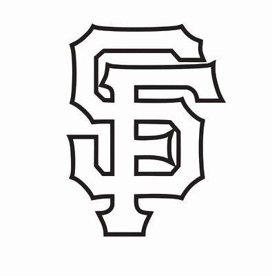 San Francisco Giants Fan Vinyl Sticker Decal *SIZES* Bumper Cornhole Truck Car