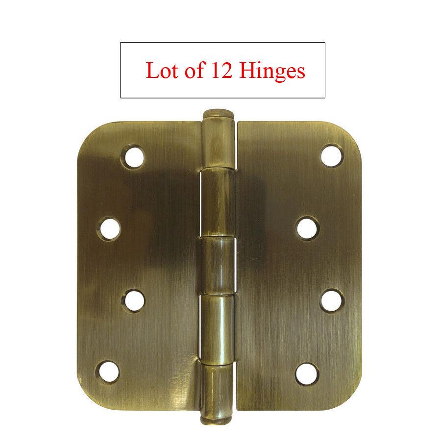 12 PC Antique Brass 4
