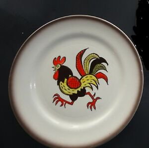 Red-Rooster-Poppy-Trails-Dinner-Plate