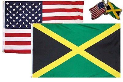 Wholesale Combo USA /& Kuwait Country 2x3 2/'x3/' Flag /& Friendship Lapel Pin