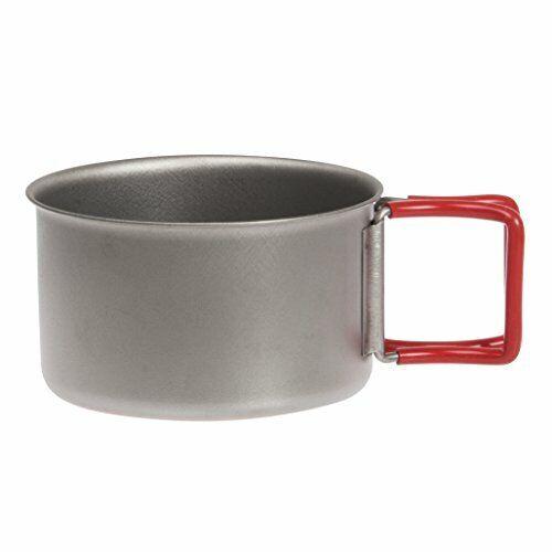 EVERNEW Ebanyu titanium cup 400FD RED EBY265R
