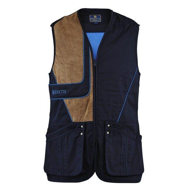 Mens Beretta Uniform Vest - Navy   bluee Xcell