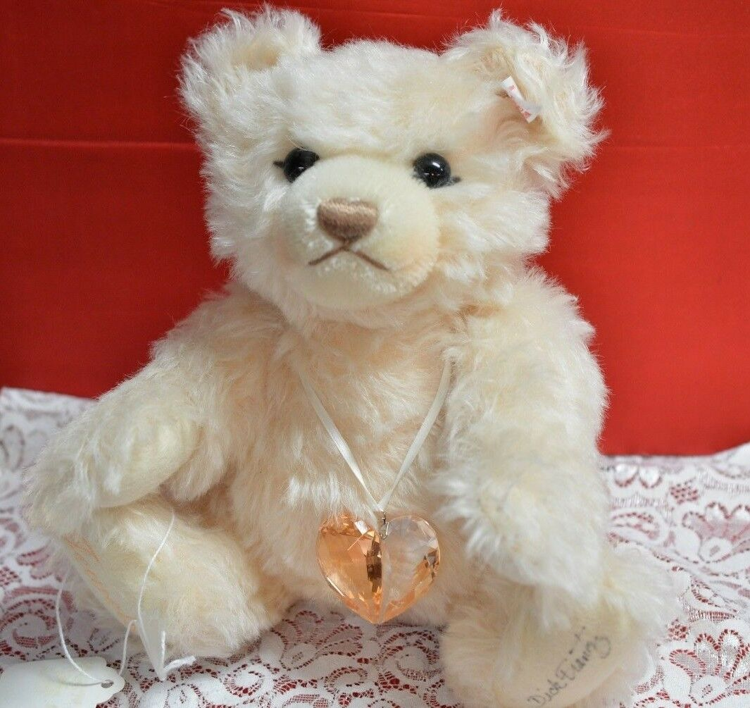 Steiff Germany Limited Edition Swarovski Jewels Teddy Bear 2007 LE 669873 signed