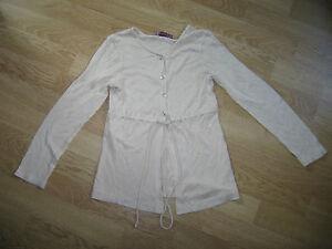 Gilet-fille-TRUCCO-beige-10-ans
