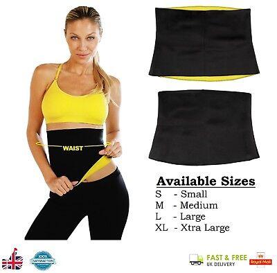 Donna Neoprene Caldo corpo snellente vita Sudore cinghia Yoga Palestra Cintura Termica Trainer