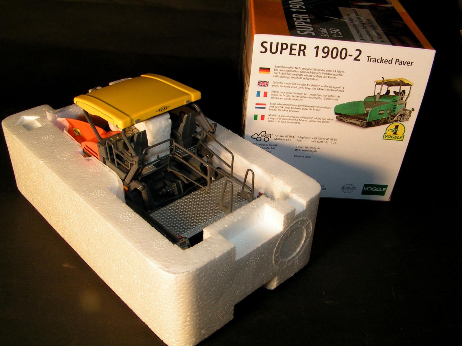 NZG maquant Super Super Super 1900-2 strass endecken finaux Colas NZG 1:50 art-nr:671/14 | économie  6e99e2