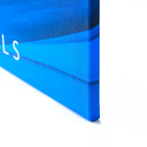 Leinwand-Bild Kunstdruck Hochformat 70x100 Bilder Weiße Eule