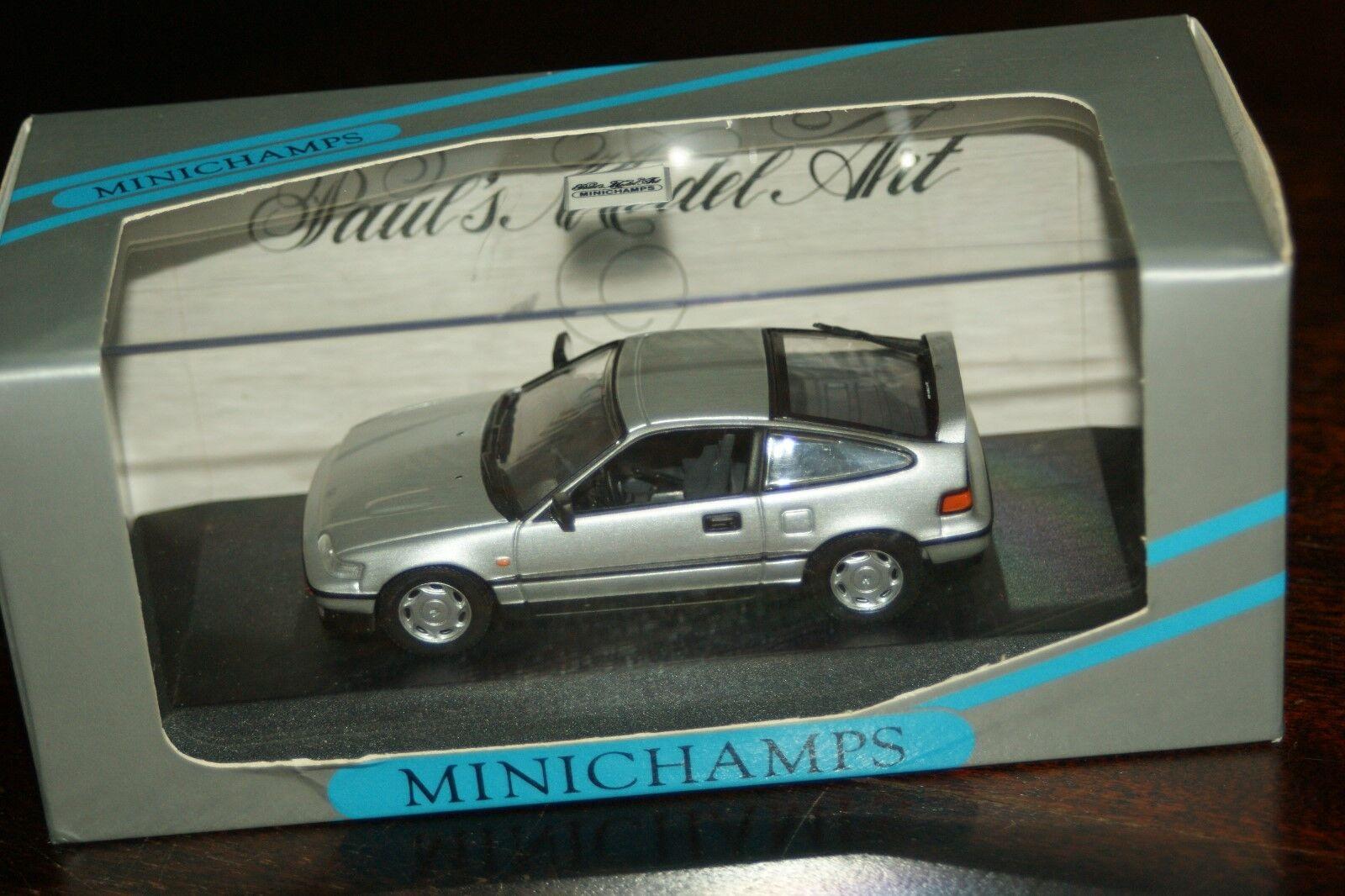 promociones emocionantes 1 43 Minichamps Honda CRX si si si plata  los últimos modelos