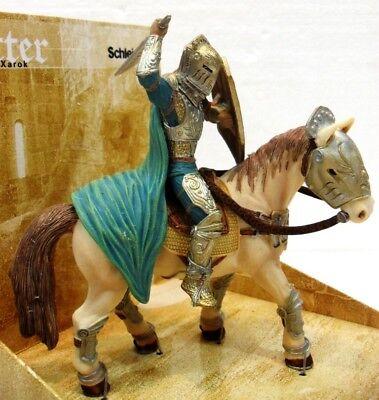 Schleich 70060 Harok Cavaliere D/notte Mondo Dei Medioevali Cm. 14,5x8,5x14,6 H