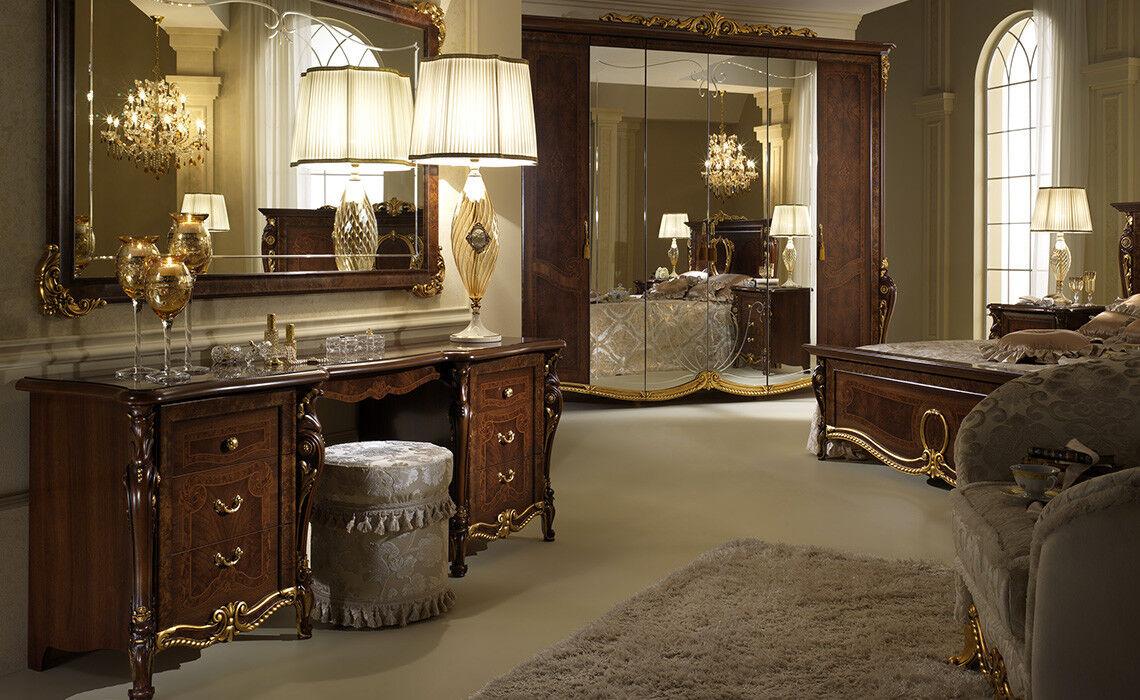 Classique lit lit double chambre Structure Couleur de lit existante Noyer Couleur Structure Italien 68f940