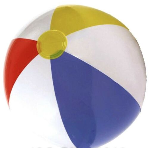 """New Inflatable Blow up Panel Beach Ball20/"""" 51cm Swimming Party Fun For Holiday"""