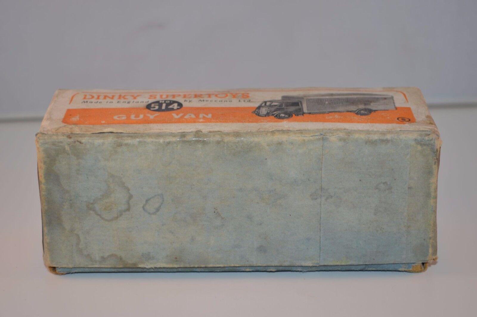 Dinky Dinky Dinky Toys 514 Guy Slumberland  empty all original complete box 885b84