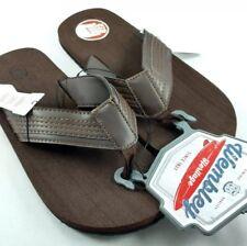 Men's WEMBLEY  BROWN Sz.XL 11-12 Flip Flops Sandals Thongs NWT