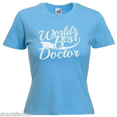 Doctor Ladies Lady Fit T Shirt 13 Colours Size 6-16