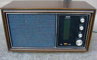 Vintage RCA VICTOR Table Top AM/FM RADIO 1960's 1970's, MID CENTURY!