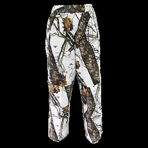 fee5affefe3882 Mossy Oak Waterproof Hunting Pants   Winter Break Up Camo   White ...