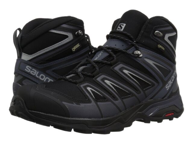 on sale 1894e 93c3e Men's Salomon X Ultra 3 MID GTX Trail Hiking Boots - Black