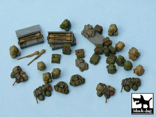 Black Dog 1//48 German Soldier/'s Equipment and Accessories Set WWII T48025