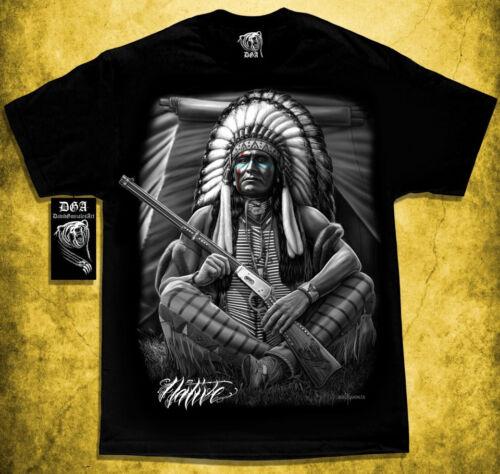 Native American Indian Chief Tribal DGA Homies Shirt Apache Commanche Warrior