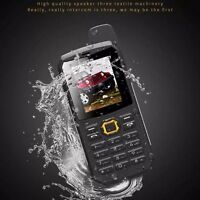 "2.2"" LCD F8 waterproof IP67 Unlocked mobile phone Quad Band dual SIM cell phone"