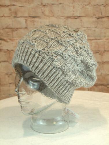 Wintermütze Damenmütze Mütze Winter Strickmütze Grobstrick grau braun beige