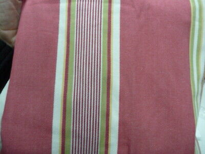 Pottery Barn Libby Stripe Lewis Headboard Slipcover King