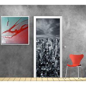 aufkleber t r deko new york 728 ebay. Black Bedroom Furniture Sets. Home Design Ideas