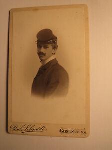 Ernst Schneider Comme élève Avec Buteur - 1904 Cdv Rud. Schmidt Montagnes Sur Griefs-afficher Le Titre D'origine