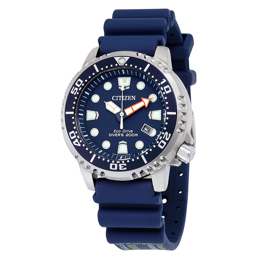 Cross-border:- Citizen Promaster Professional Diver Dark Blue Dial Men's Watch low price