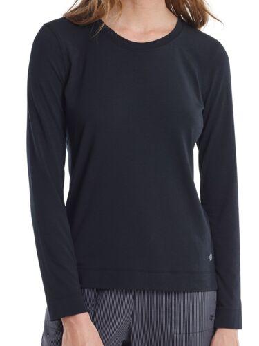 159940 Marc O/'Polo Damen Schlafanzugshirt Shirt Langarm Crew-Neck