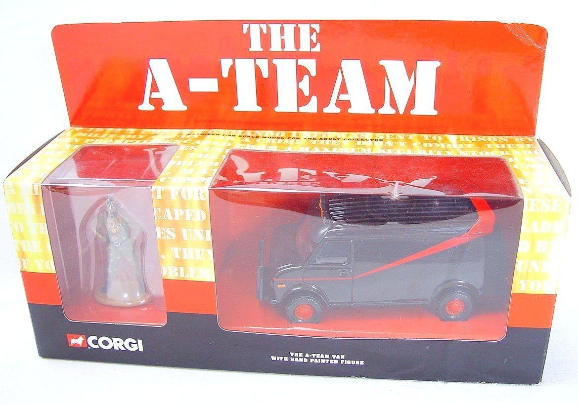 Corgi Toys Toys Toys 1 43  THE A-TEAM  BA BARACUS GMC VAN TV Movie Model Car 87502 MIB`01  1127dc